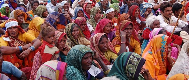 Participatory mechanisms can specifically be designed to involve women, poor residents, the youth, and other marginalized or under-represented groups. (Photo credit: Ekta Parishad).